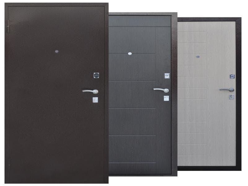 Современные металлические входные двери
