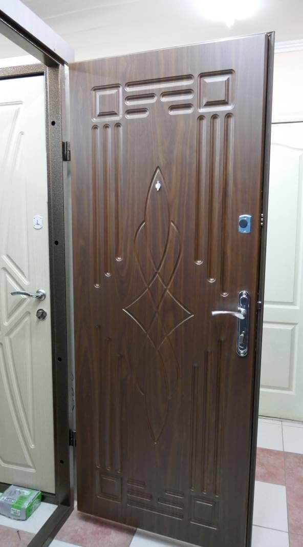 Фото входных дверей серии Бастион