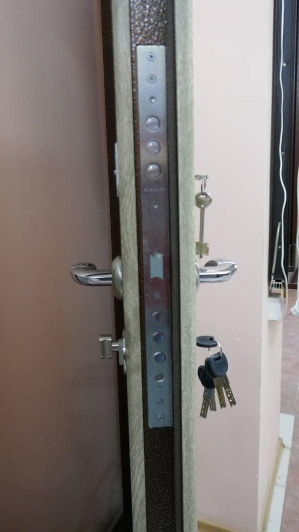 Фото входных дверей серии Массив
